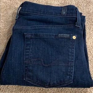 7 for all mankind ankle gwenevere jeans women's 29